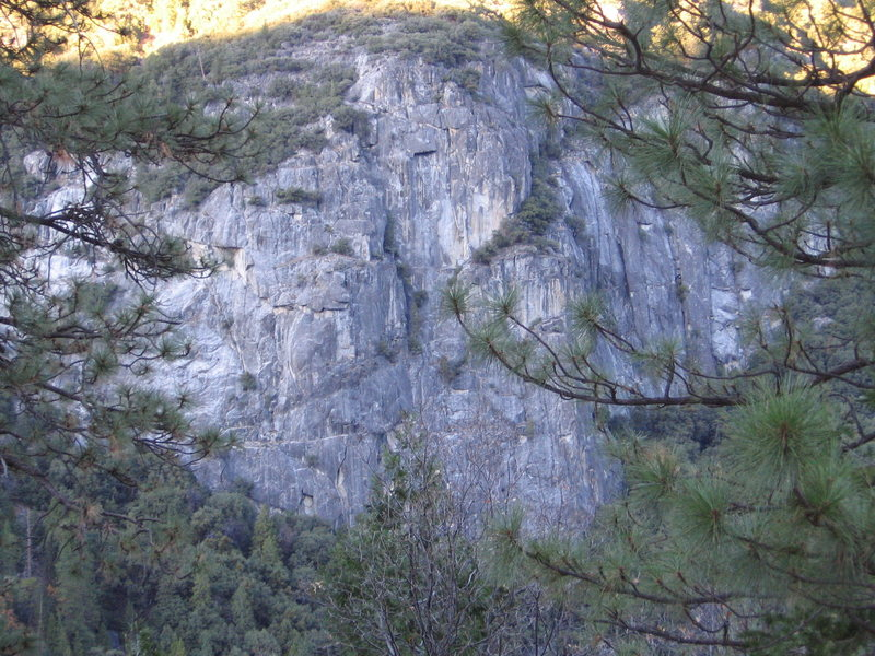 Rock Climbing Photo: The Last Resort Cliff.