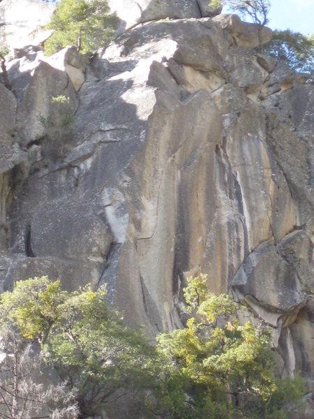Rock Climbing Photo: The Phoenix, viewed from lower Cascade Falls.