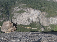 Rock Climbing Photo: Reed's, taken from Turtleback Dome.