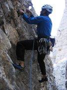 Rock Climbing Photo: Start of Via Normale on Torre Quarta Bassa.