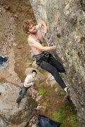Rock Climbing Photo: Someone said I look like Warren Harding in this ph...