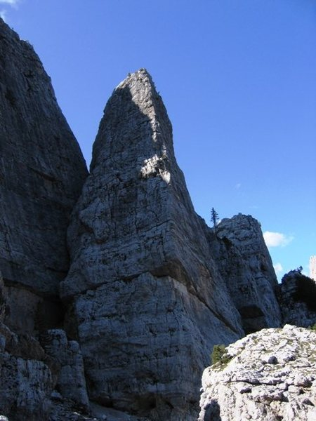 South face of Torre Quarta Bassa