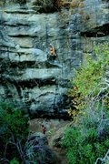 Rock Climbing Photo: Welcome to Paradise. With fixed draws.