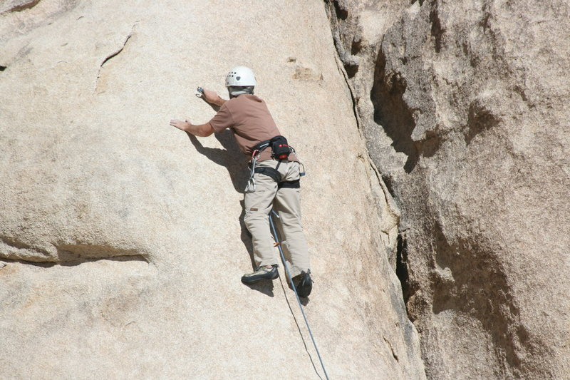 Rock Climbing Photo: Nathan on True Grit.