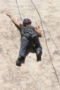 Rock Climbing Photo: Agina on Bubba's Tourist Trap.