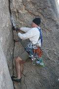 Rock Climbing Photo: Me on Diagnostics.