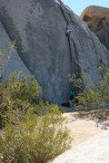 Rock Climbing Photo: Me on Diagnostics belayed by Agina.