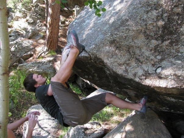 Rock Climbing Photo: Starting Lie