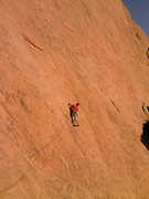 Rock Climbing Photo: Buster Jesik getting into a Place in the Sun. 10/6...