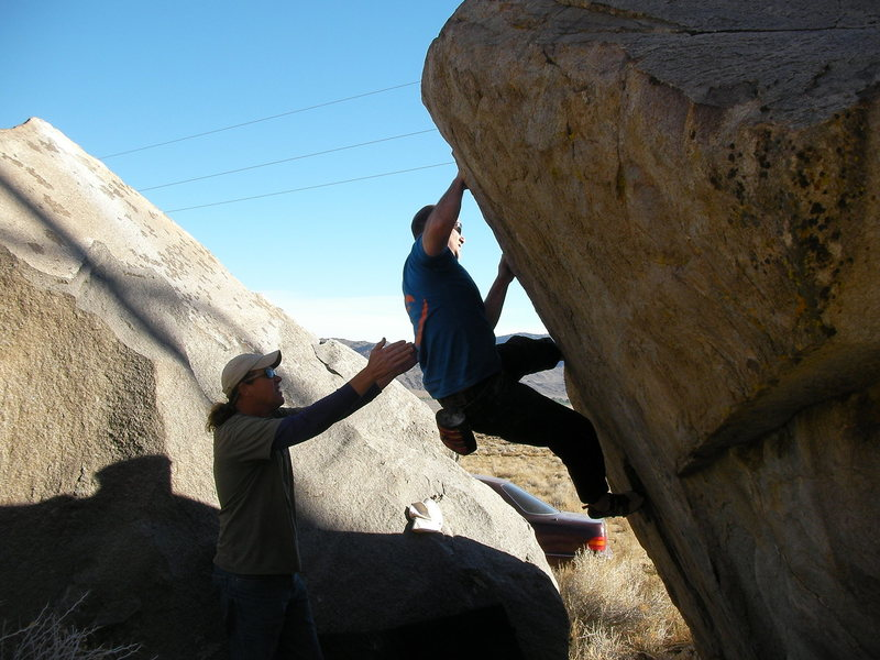 Bouldering at the Drive By's