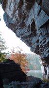 Rock Climbing Photo: Beautiful fall day