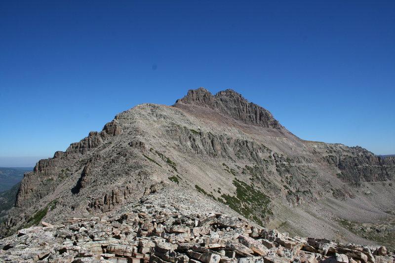 spur ridge<br>
