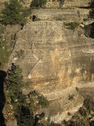 Rock Climbing Photo: This formation on the west side of the Wailing Wal...
