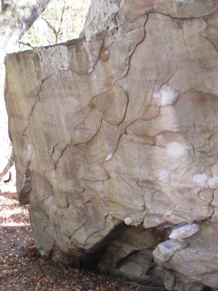 Rock Climbing Photo: comet boulder