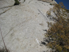 Rock Climbing Photo: 2 new bolts on Via Duck. A 3rd new bolt is just ab...
