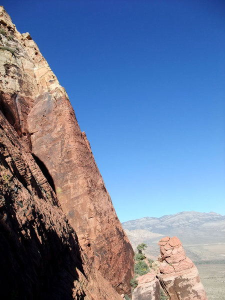 Rock Climbing Photo: looking over to Resolution Arete