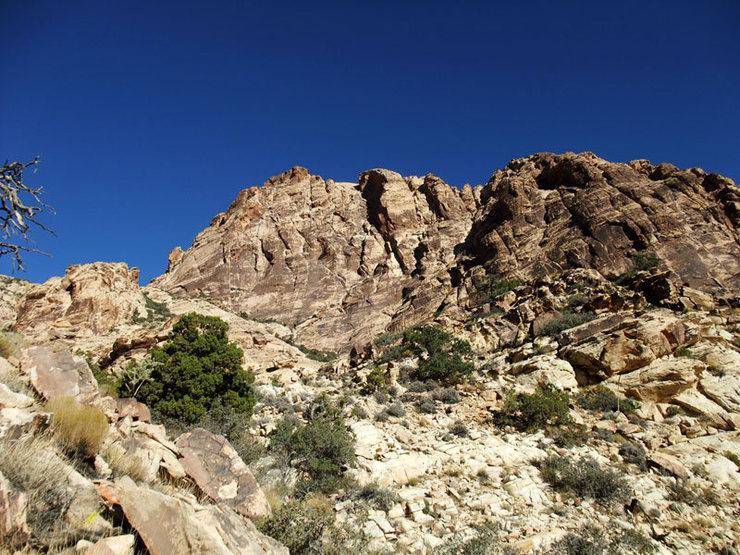 S Face of Windy Peak