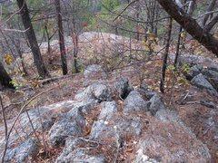 Rock Climbing Photo: The actual top.
