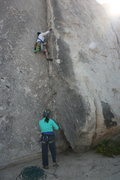 Rock Climbing Photo: Fun climb. Me belayed by Agina Sedler