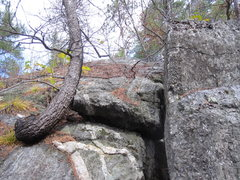 Rock Climbing Photo: Fourth pitch is not really a pitch at all, just a ...