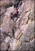 Rock Climbing Photo: Paul Van Betten on something. Photo by Blitzo.