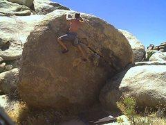 Rock Climbing Photo: collie herb