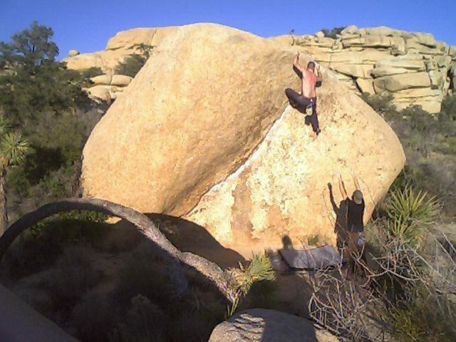 Rock Climbing Photo: the chube