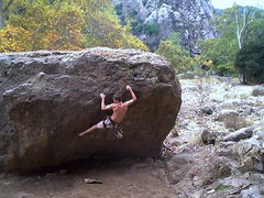 Rock Climbing Photo: malibu creek
