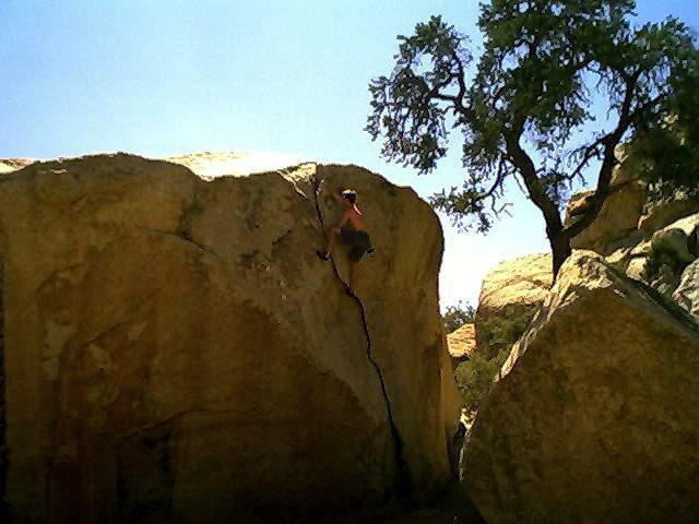Rock Climbing Photo: false up 20