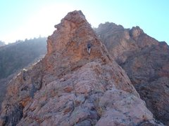 Rock Climbing Photo: The Hackattack sends ptch 2