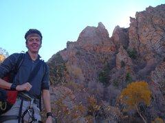 Rock Climbing Photo: the hat