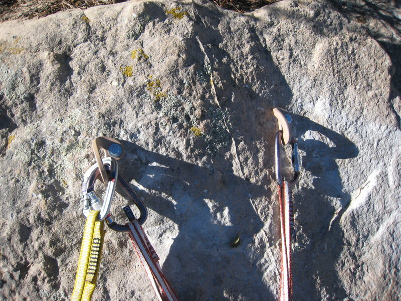 Rock Climbing Photo: The bomber, new anchor thanks to Rock the X.