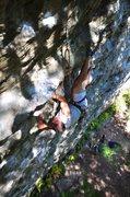 Rock Climbing Photo: A climber named Jordan busting out an interesting ...