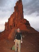 Rock Climbing Photo: Sunset on the connecting ridge . . .
