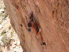 Rock Climbing Photo: I Claudius @ Shelf, photo by Devan Johnson.
