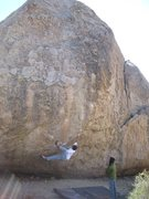 Rock Climbing Photo: Me on high planes drifter v7