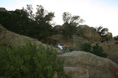 Rock Climbing Photo: Another clue for beachplus4 on that spot you are l...