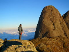 Rock Climbing Photo: Pico Maior de Salinas visto do cume do Capacete. M...