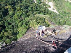 Rock Climbing Photo: Pedra Hime, Jacarepaguá, Rio de Janeiro.