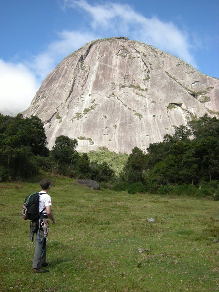 Rock Climbing Photo: Morro do Capacete, Nova Friburgo, Estado do Rio de...