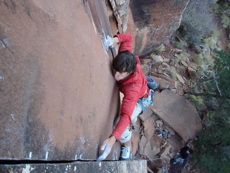 Rock Climbing Photo: Machete