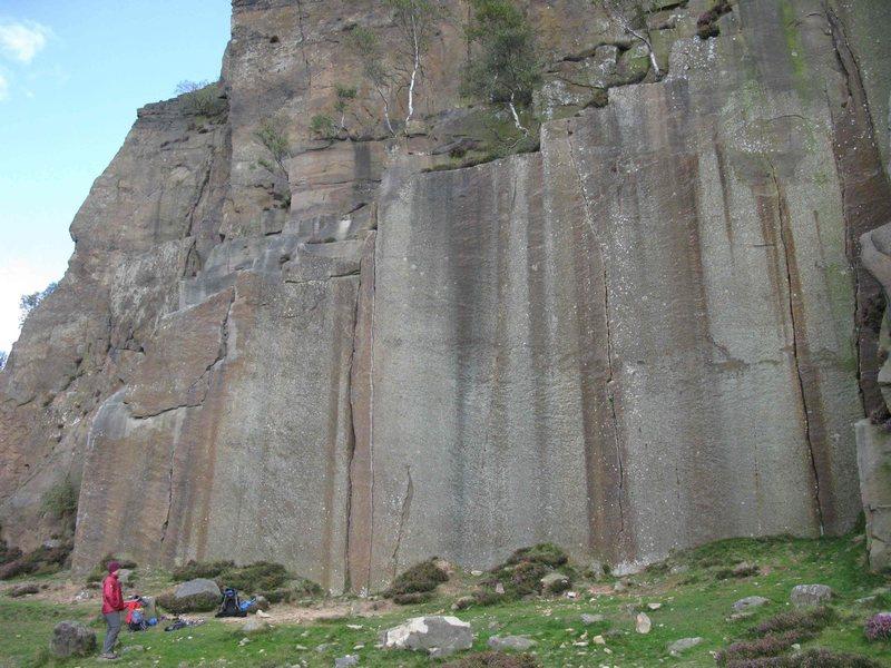 Rock Climbing Photo: Embankment Wall