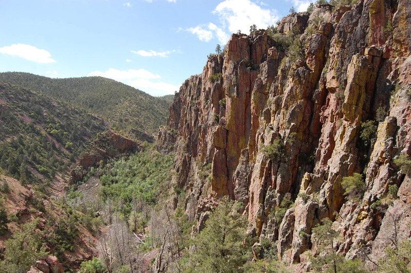 Isolation Canyon Main Wall