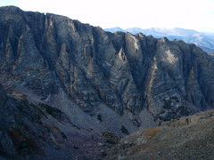 Rock Climbing Photo: The convoluted southern flanks of Otis Peak.