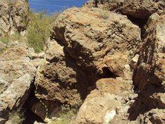 Rock Climbing Photo: Refried Beans V2