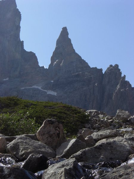 Rock Climbing Photo: The Bear's Tooth