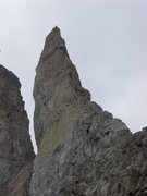 Rock Climbing Photo: Bear's Tooth up close