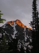 Rock Climbing Photo: White Tail peak