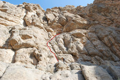 Rock Climbing Photo: Me at the top of the route. It is a pretty easy an...