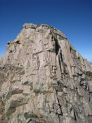 Rock Climbing Photo: The impressive south face of Low Horn 1 from below...